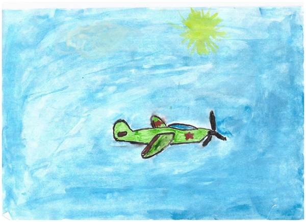 детские рисунки о войне (1)