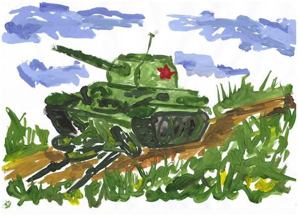 детские рисунки о войне (11)