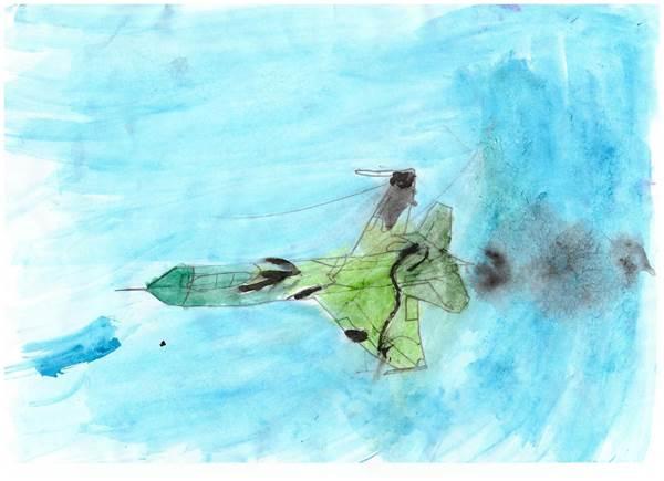детские рисунки о войне (12)