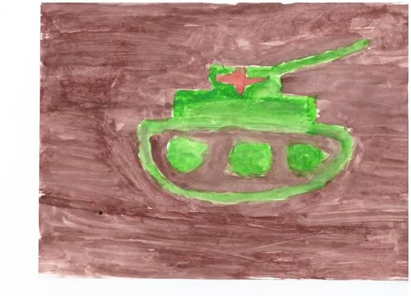 детские рисунки о войне (14)