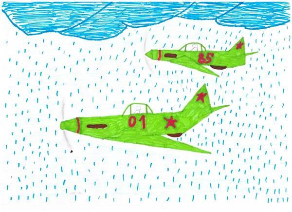 детские рисунки о войне (15)