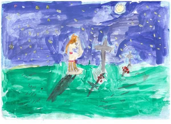 детские рисунки о войне (17)