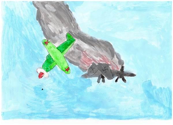 детские рисунки о войне (2)