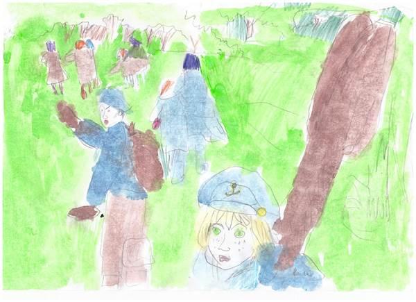 детские рисунки о войне (3)