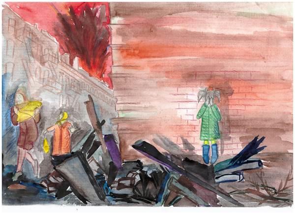 детские рисунки о войне (5)