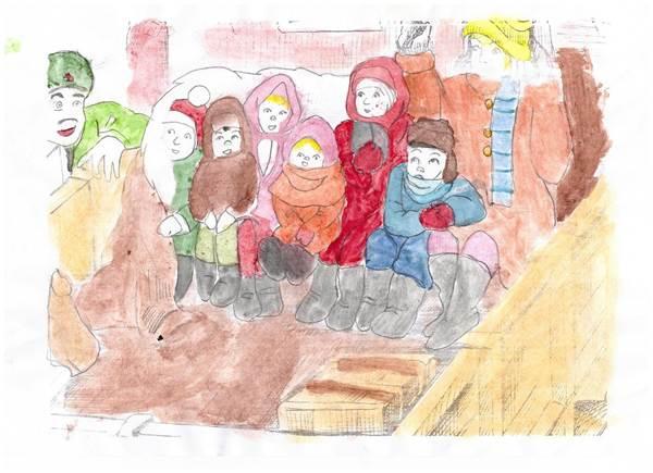 детские рисунки о войне (6)