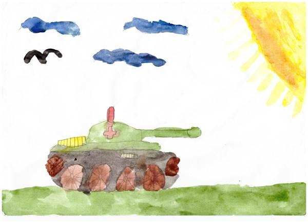 детские рисунки о войне (7)