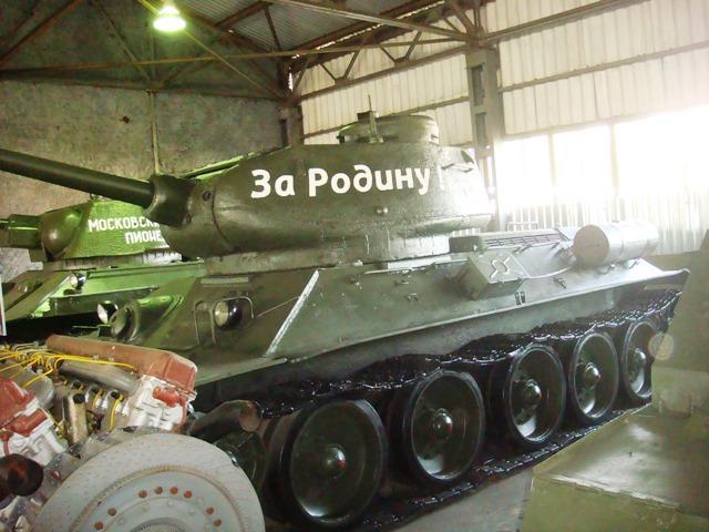 Экскурсия в Музей танков в Кубинке 28 сентября 2012 года (8)