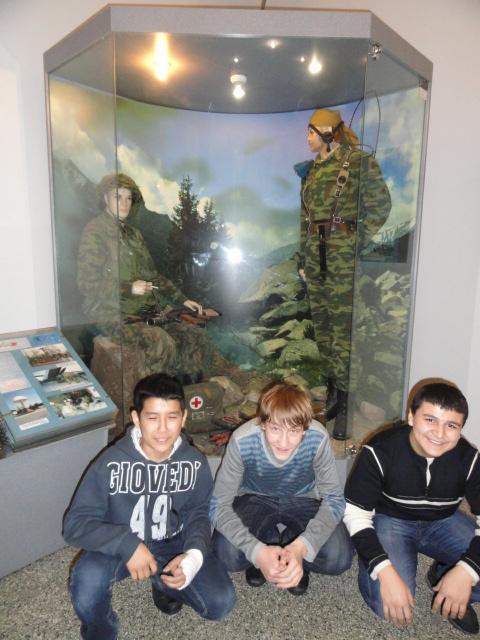 Экскурсия в музей вооружённых сил (1)