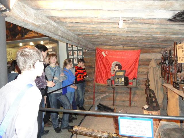 Экскурсия в музей вооружённых сил (19)