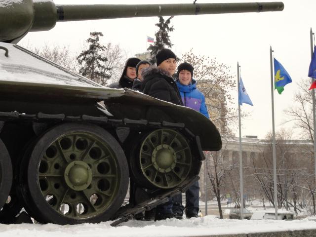Экскурсия в музей вооружённых сил (2)