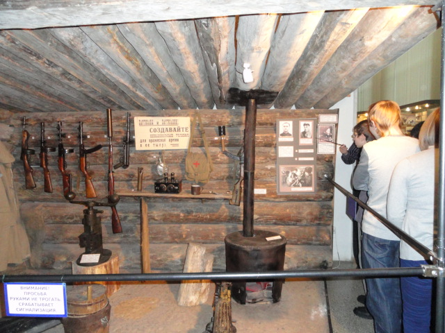 Экскурсия в музей вооружённых сил (20)