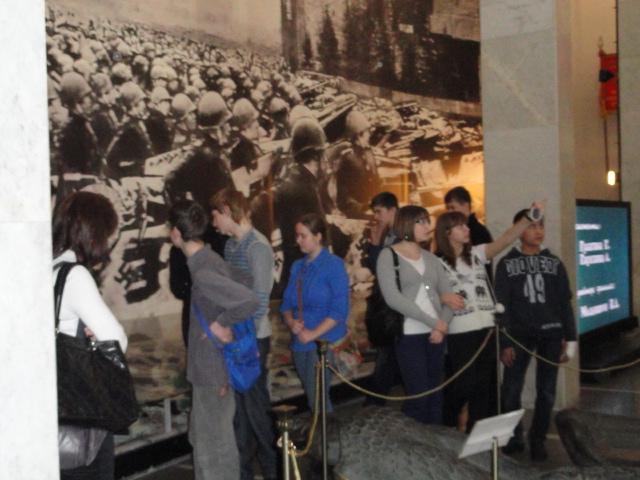 Экскурсия в музей вооружённых сил (21)