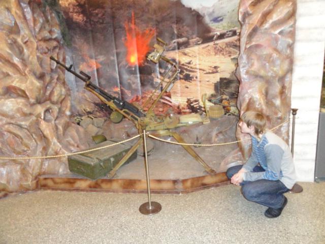 Экскурсия в музей вооружённых сил (25)