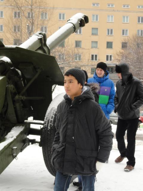 Экскурсия в музей вооружённых сил (9)