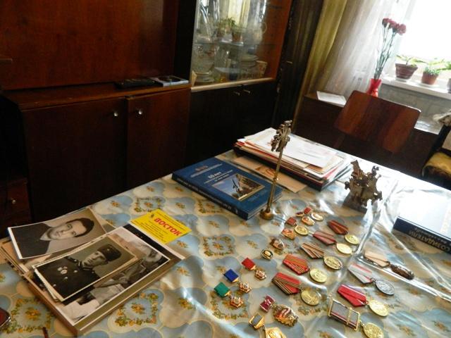 Посещение ветерана труда, участника боевых действий Репина М. П