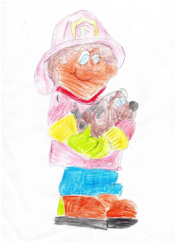 Рисунки о пожарной безопасности