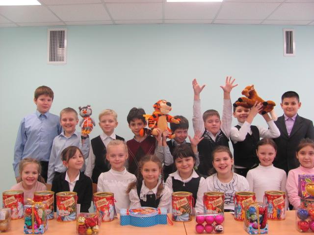 Гуманитарная помощь детям Новороссии