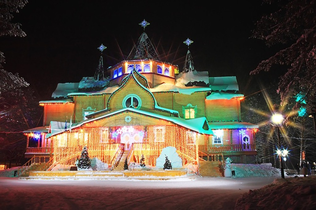 В вотчине Деда Мороза