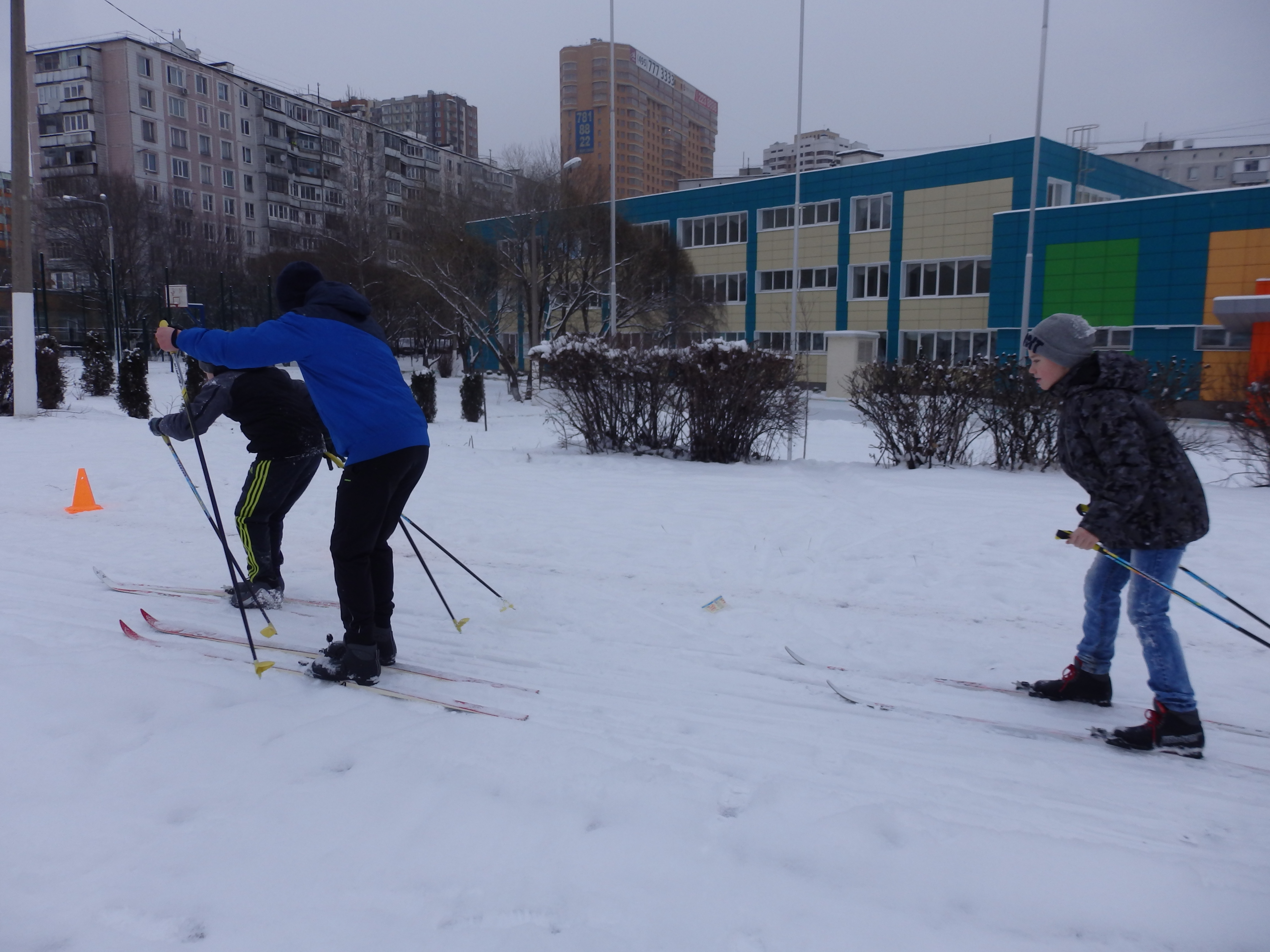 Турнир по Лыжным гонкам