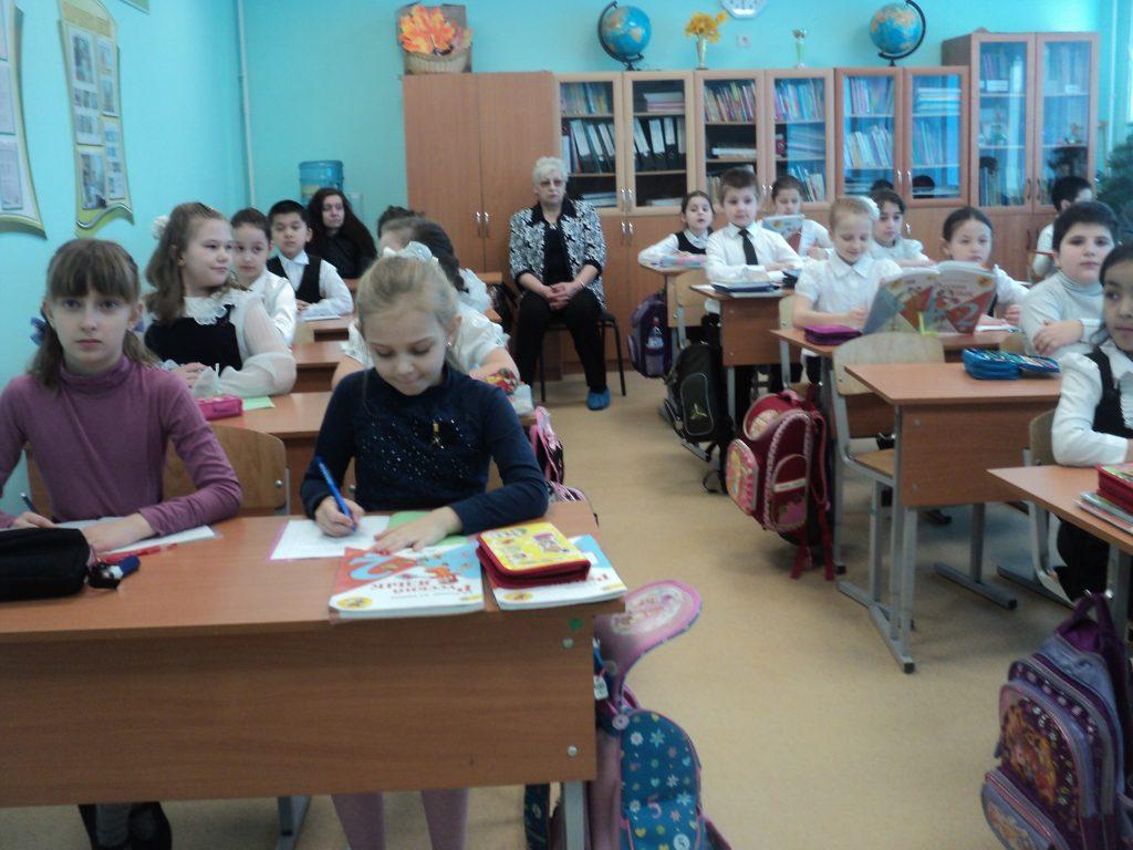 фотографии со дня открытых дверей, 2 в класс