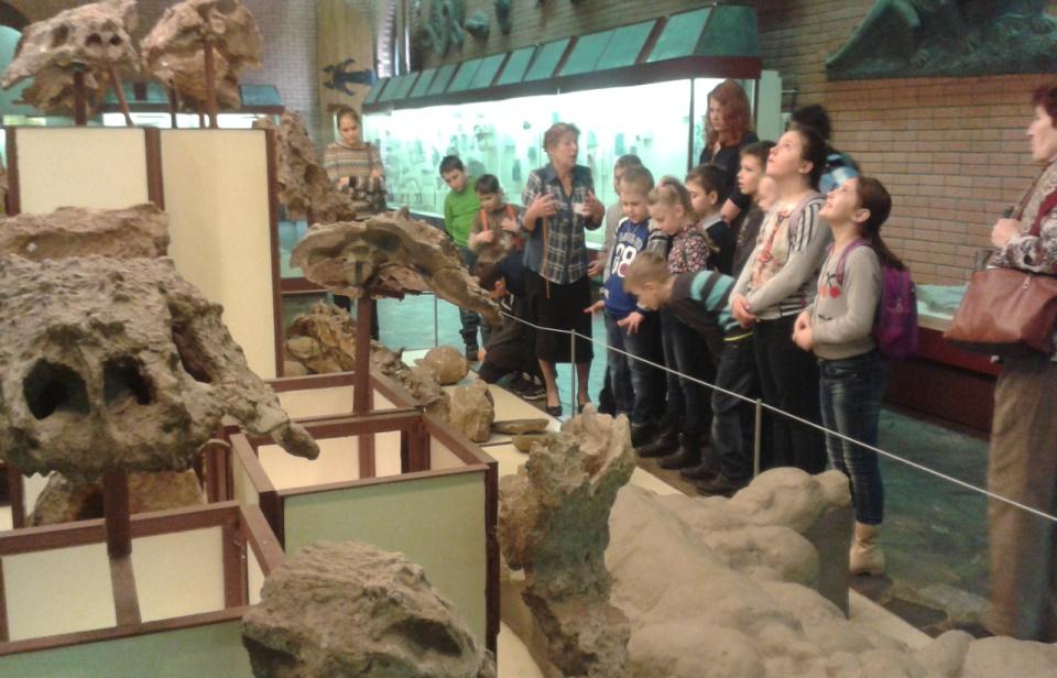 экскурсия в палеонтологический музей