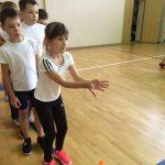 Эстафета в 4-х классах в Единый День здоровья