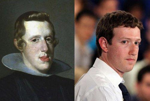 Король Испании Филипп IV - Марк Цукерберг