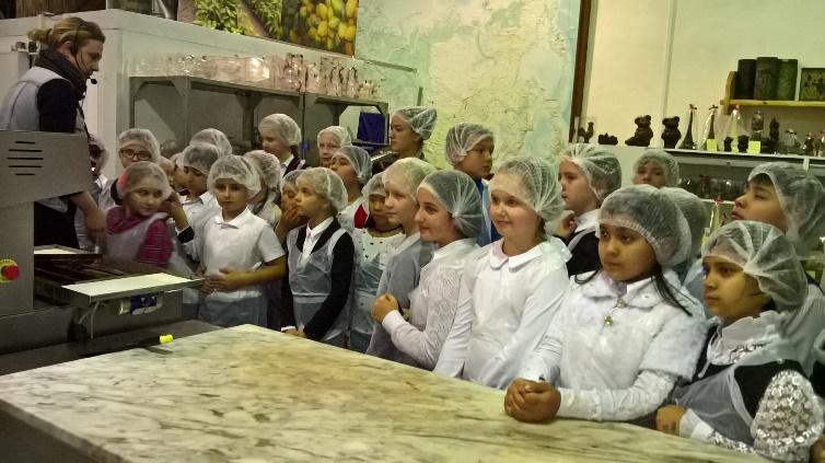 Экскурсия на шоколадное производство